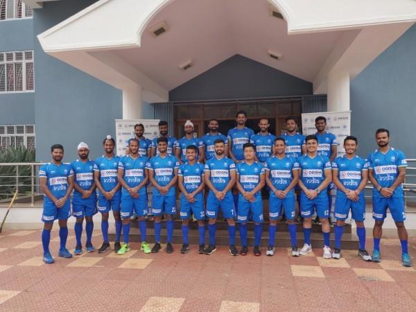 Equipo de hockey indio