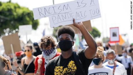 Las protestas de Black Lives Matter no han llevado a un aumento en los casos de coronavirus, según una investigación