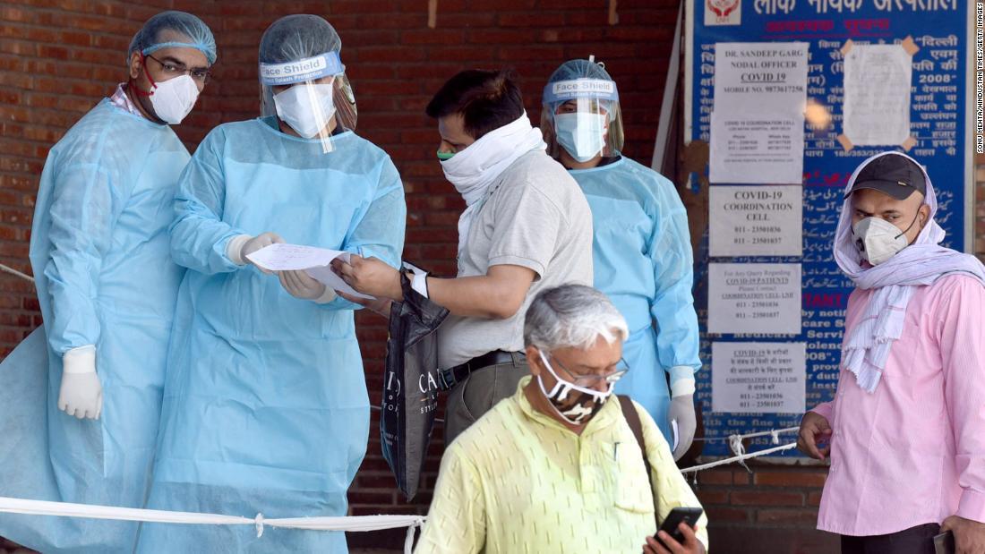 india new delhi covid 19 coronavirus pandemic hospitals Sud pkg intl ldn vpx_00033712