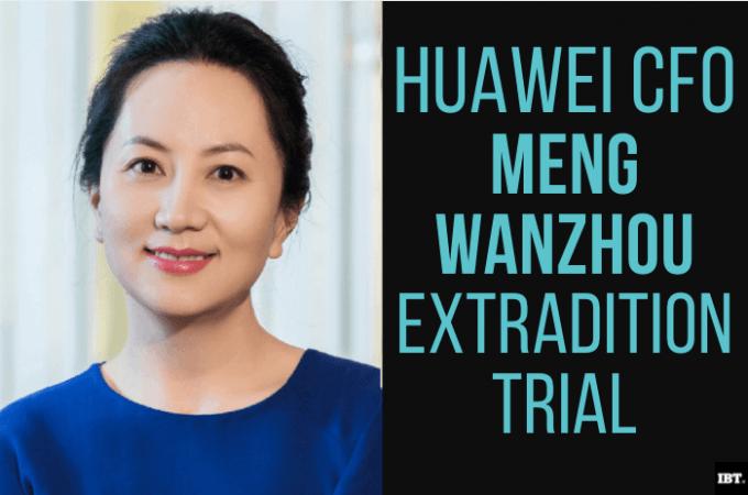 Funda de extradición de Huawei CFO