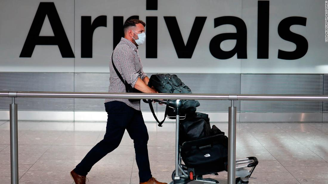 Alivio de viaje para los británicos mientras el gobierno revisa la cuarentena de dos semanas