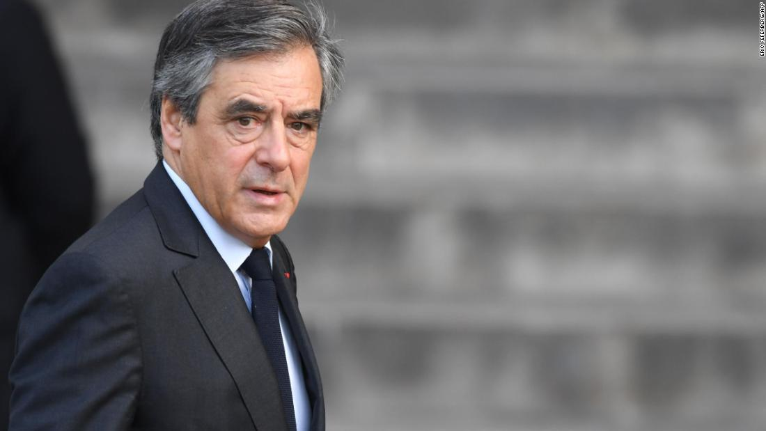 Former French Prime Minister François Fillon was prime minister under President Nicolas Sarkozy between 2007 and 2012.