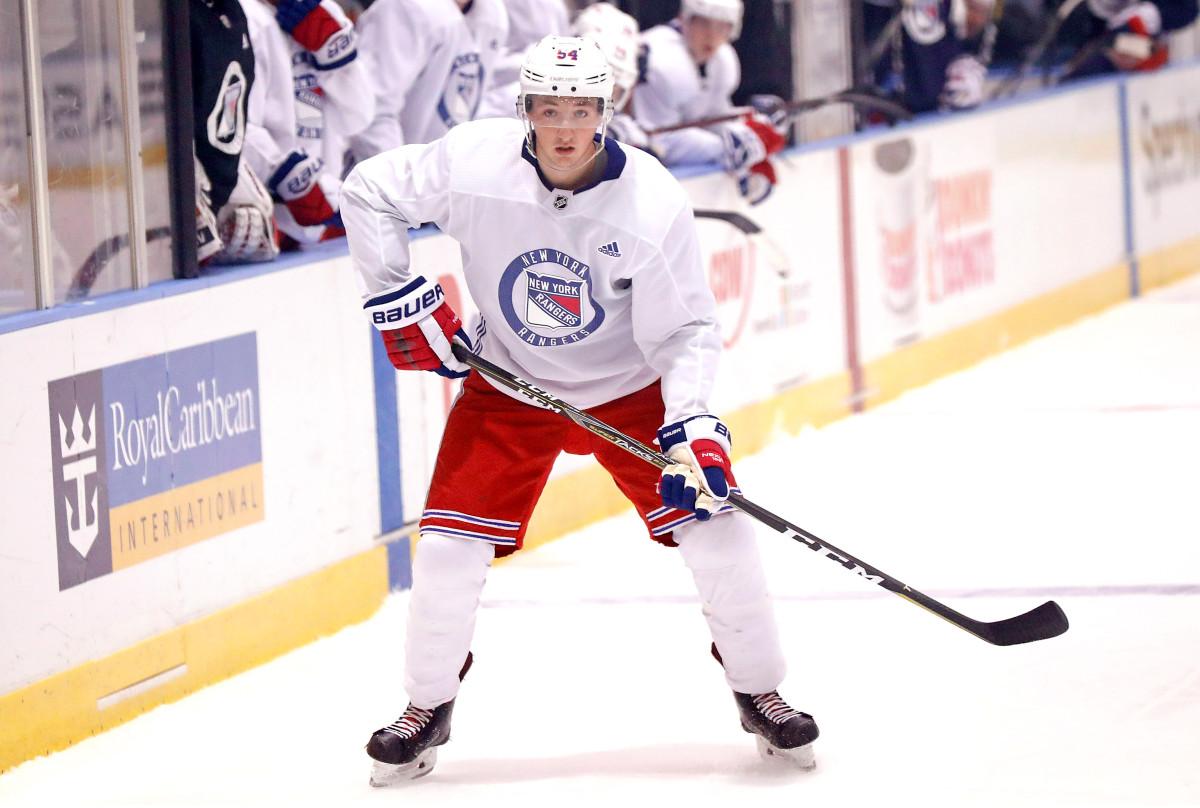 El prospecto de los Rangers, Nils Lundkvist, firma un acuerdo con el equipo sueco