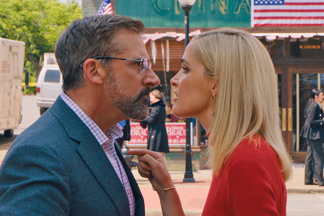 "Steve Carell and Rose Byrne in ""Irresistible."""