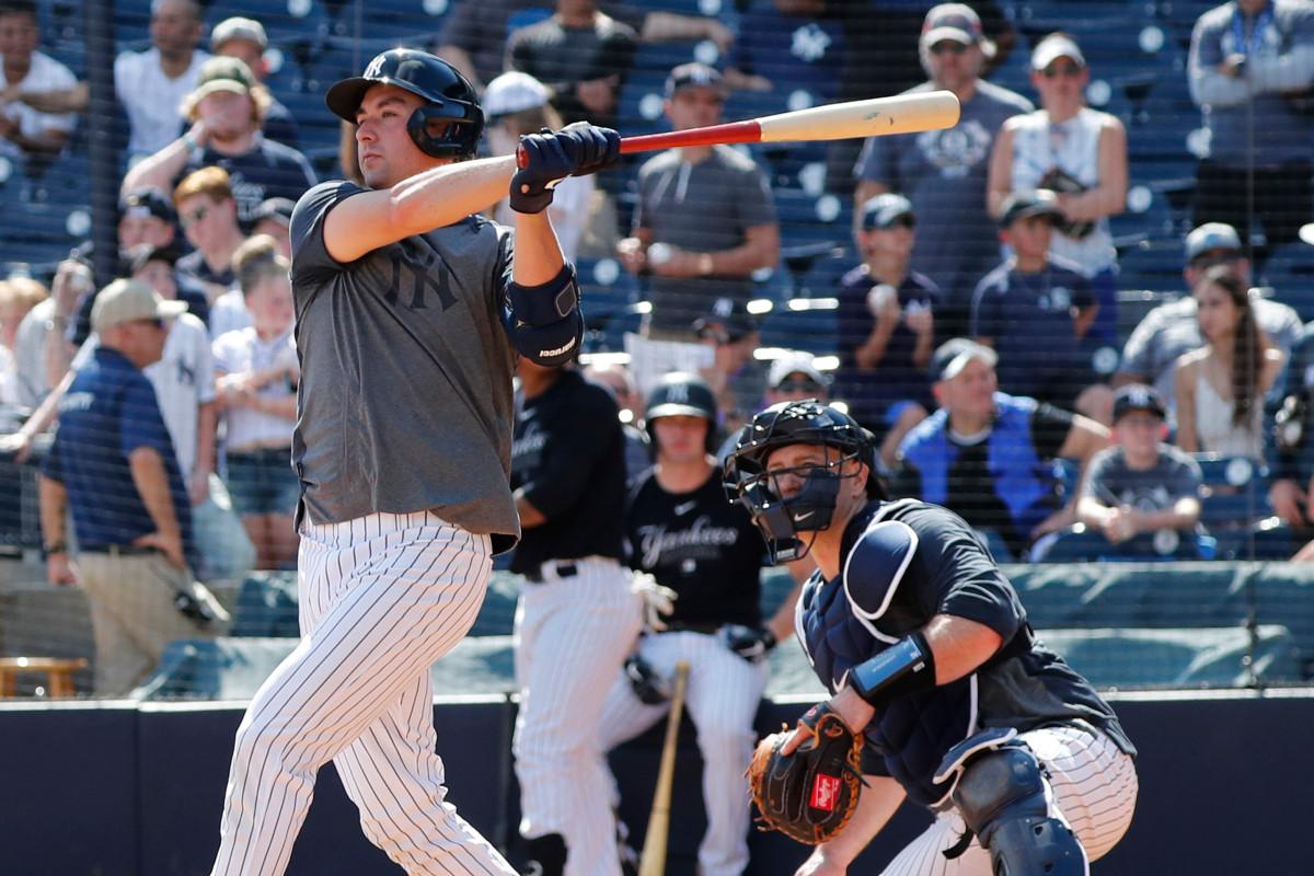 La simple estrategia de coronavirus de Kyle Higashioka para el reinicio de MLB de los Yankees
