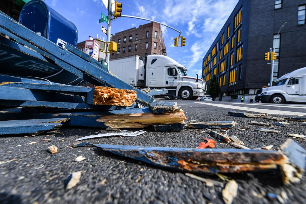 Las 'calles abiertas' no forzadas de De Blasio causan tensión en el vecindario
