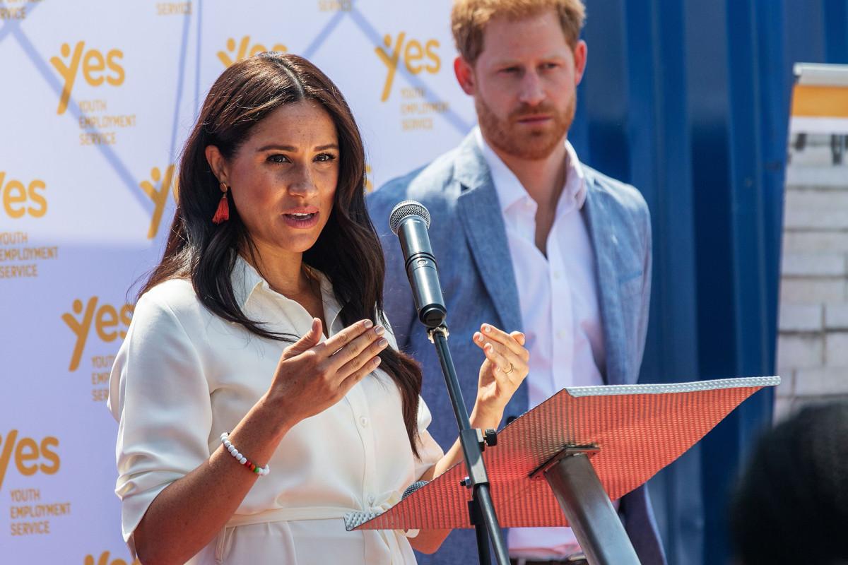 Meghan Markle, el príncipe Harry está listo para ganar hasta $ 1 millón por discurso