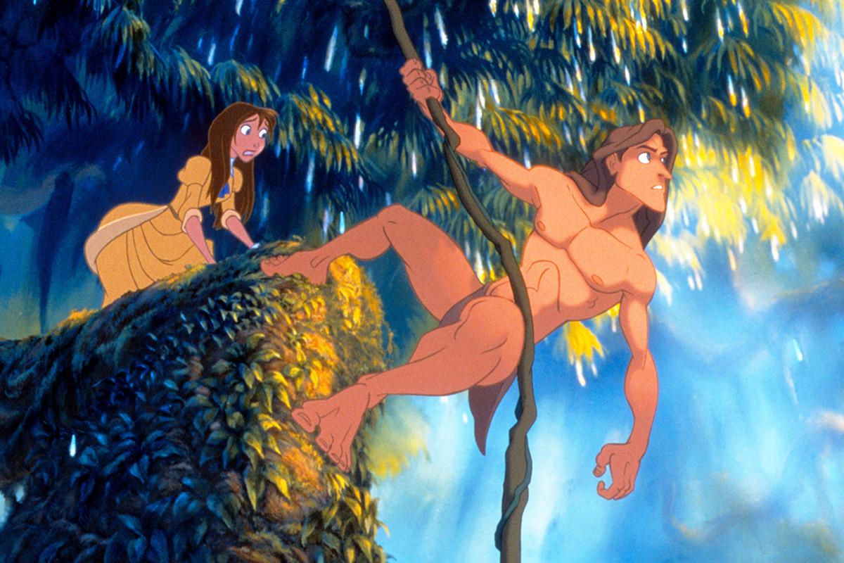 Tarzán finalmente está transmitiendo en Disney +