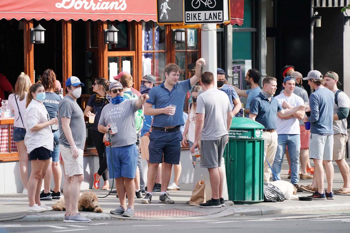 West Village es el mejor nabe por violaciones de distanciamiento social