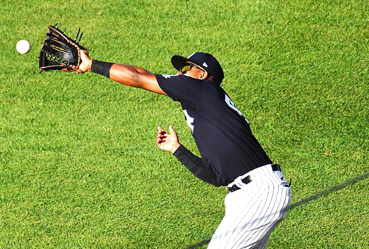 ¿Qué está haciendo Miguel Andujar de los Yankees para mejorar su defensa?