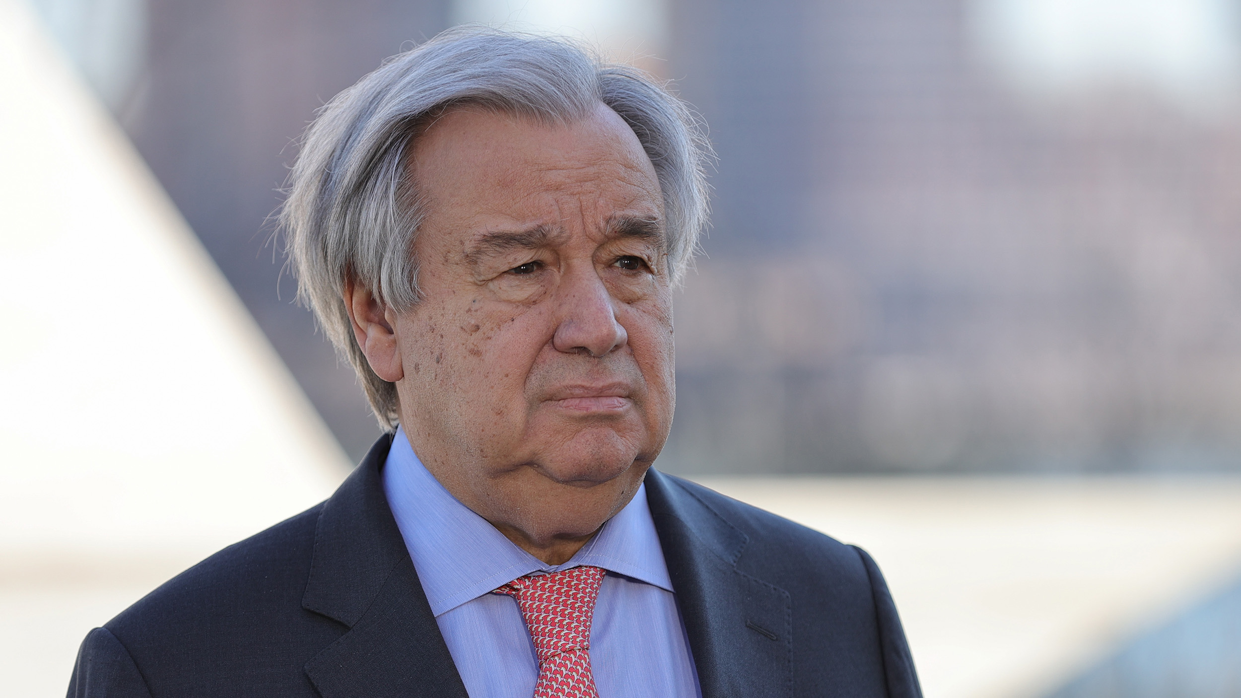 U.N. Secretary General Antonio Guterres