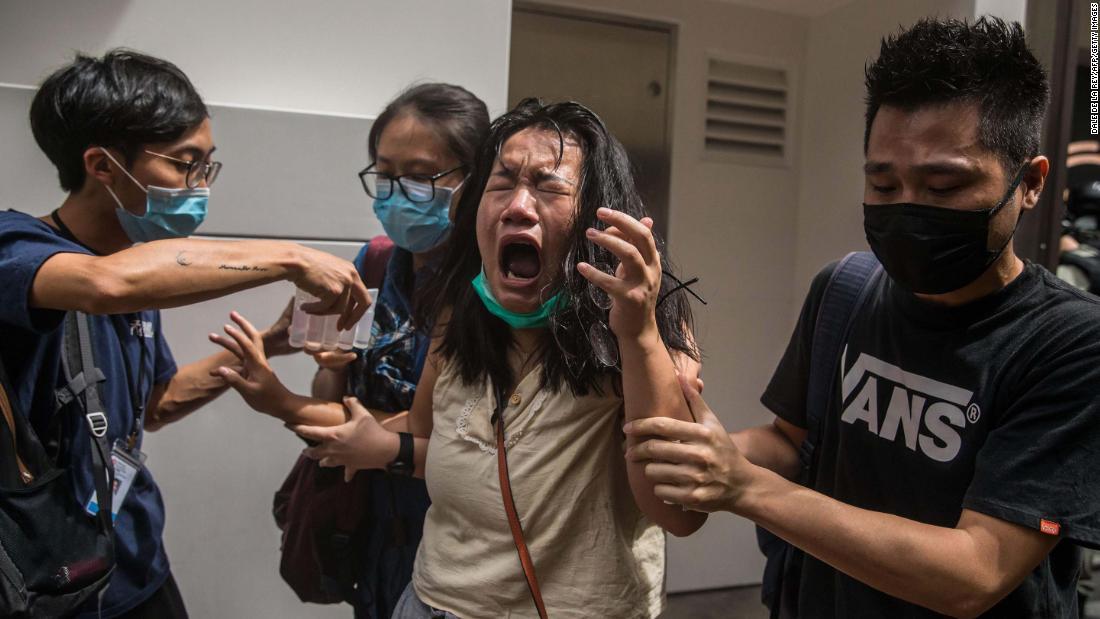 1 de julio protestas en Hong Kong