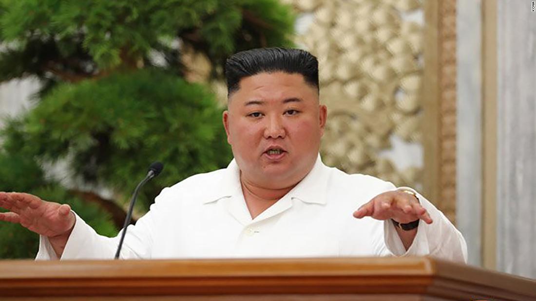 """La respuesta de Covid-19 de Corea del Norte ha sido un """"éxito brillante"""", afirma Kim Jong Un"""