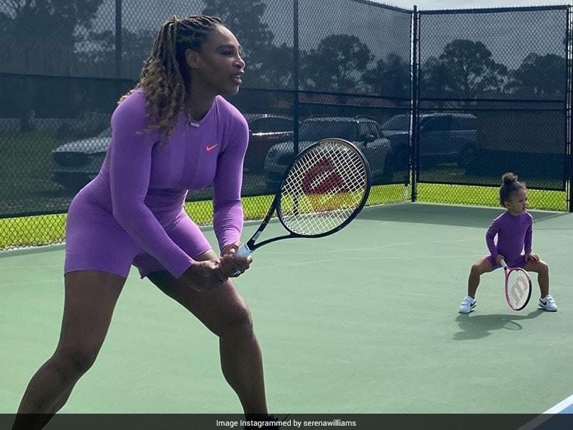 """Serena Williams y su nuevo """"socio de dobles"""" toman las redes sociales por Storm"""