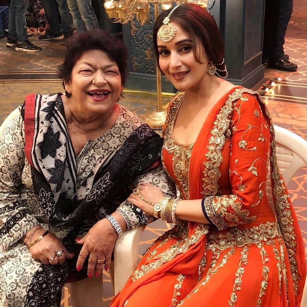 Saroj Khan had composed