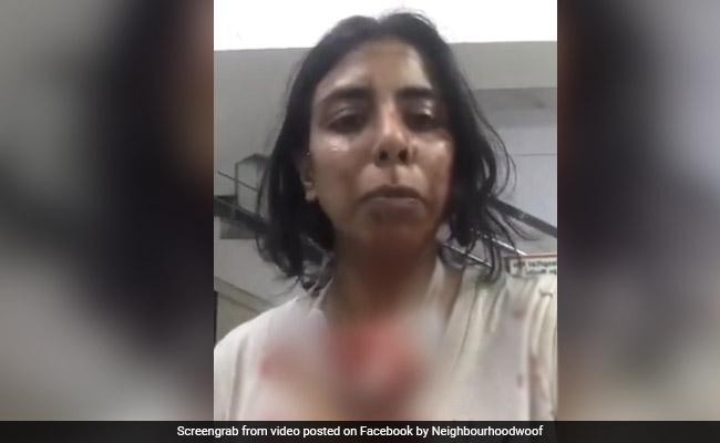 Rescatadores de animales de Delhi Vecindario Guau alegan ataque brutal, policías dicen que su auto golpeó a locales