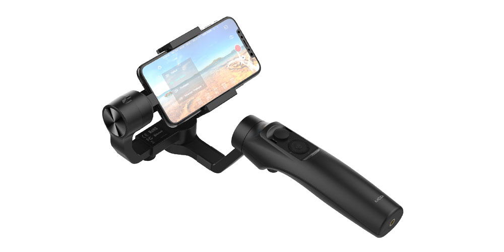 Un mini cardán inalámbrico para teléfonos inteligentes