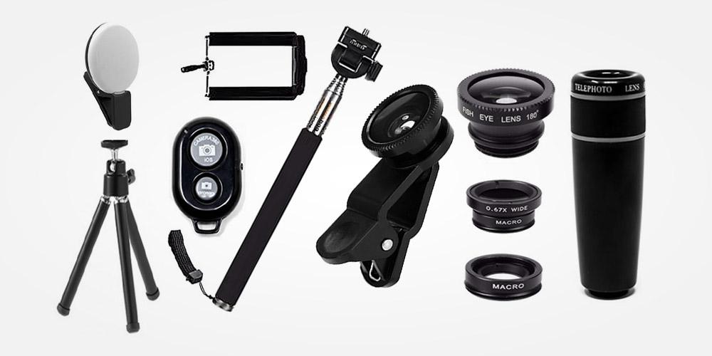 Accesorios para teléfono con cámara
