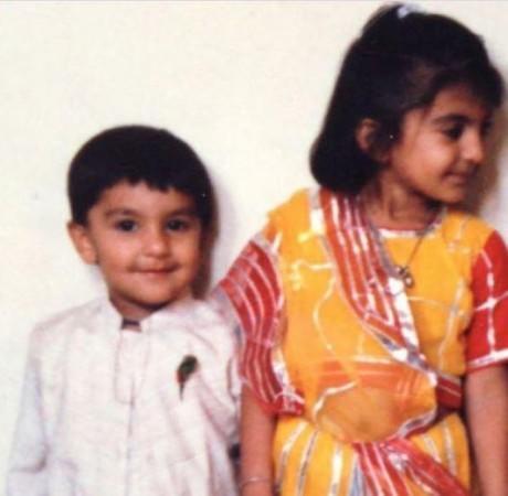 Ranveer Singh con Ritika Bhavnani