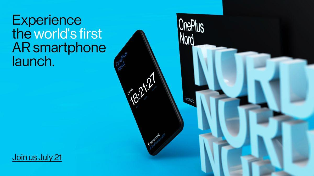 How to watch OnePlus Nord launch in India on July 21; complete details