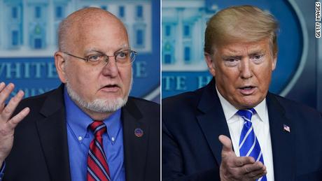 La presión de Trump genera confusión total sobre las pautas de apertura de escuelas de los CDC