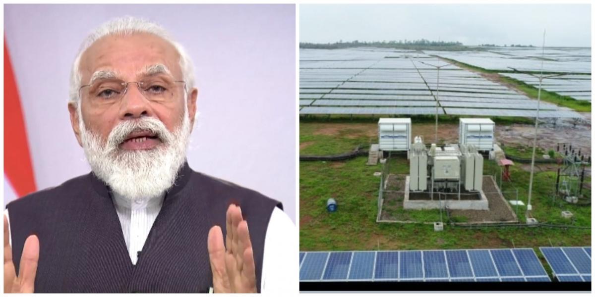 PM dedica el proyecto Rewa Ultra Mega Solar Power a la nación (2nd Ld)