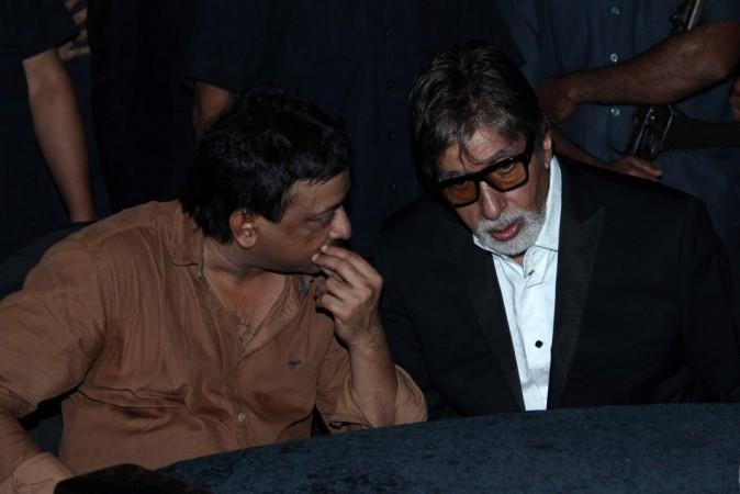 Amitabh Bachchan y Ram Gopal Varma en la fiesta