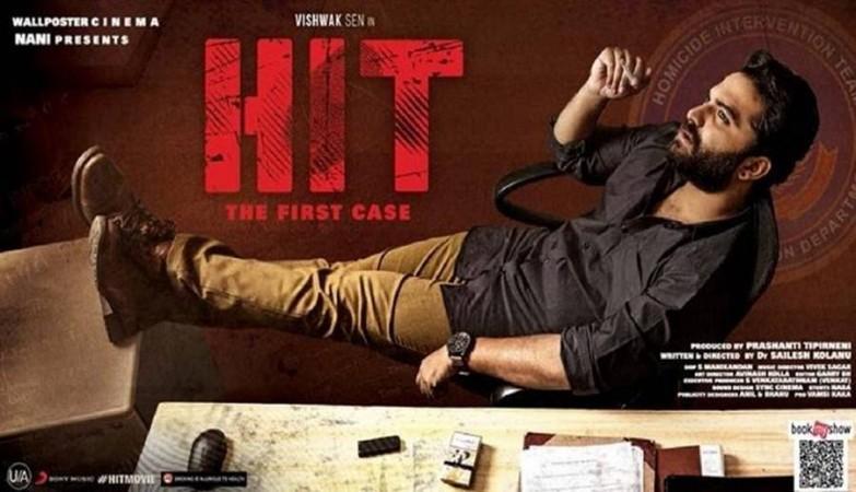 Cartel de la película HIT de Vishwak Sen