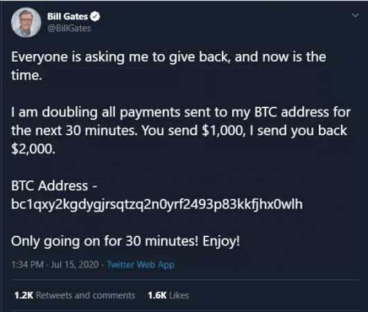 Bill Gates hackeado