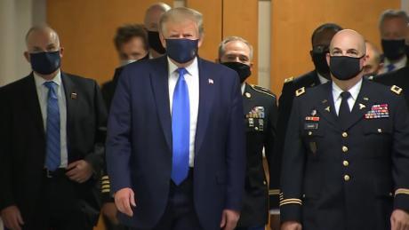 Lo que la máscara de Trump no puede ocultar