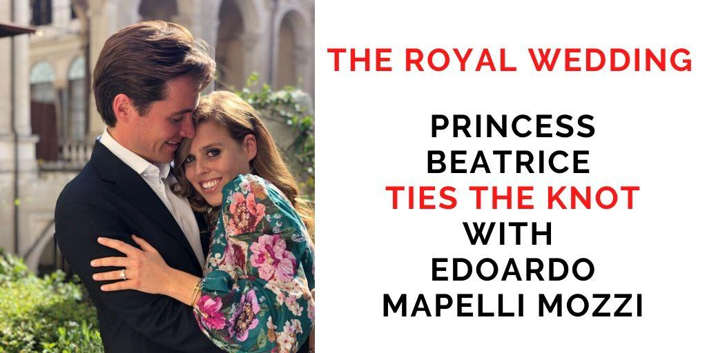 Princess Beatrice married