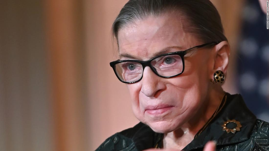 Watch Justice Ginsburg get sworn in