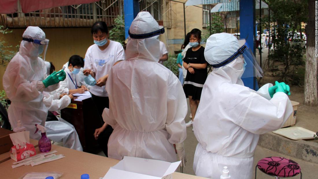 China Beijing coronavirus testing site Culver lkl intl hnk vpx_00003108