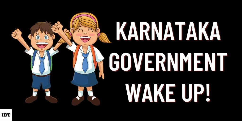 Student protest Karnataka