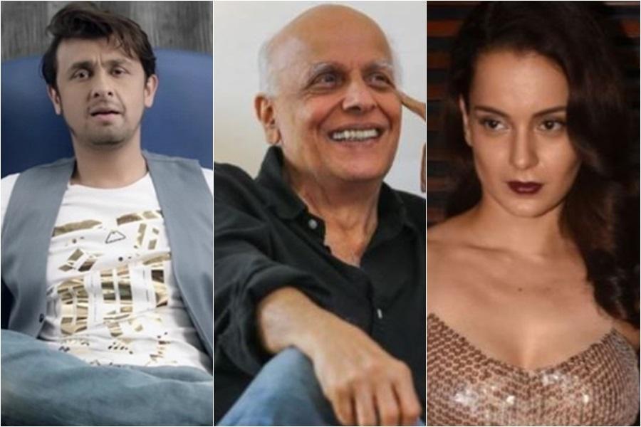 Sonu Nigam, Mahesh Bhatt, Kangana Ranaut