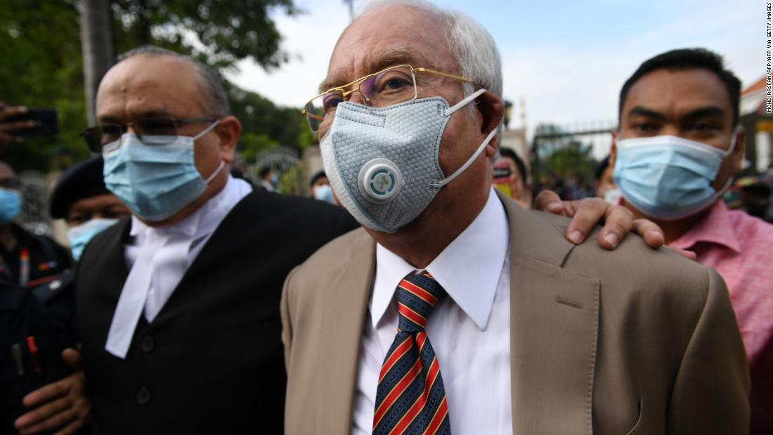 Malaysia's former PM Najib to go to trial for corruption (2019)