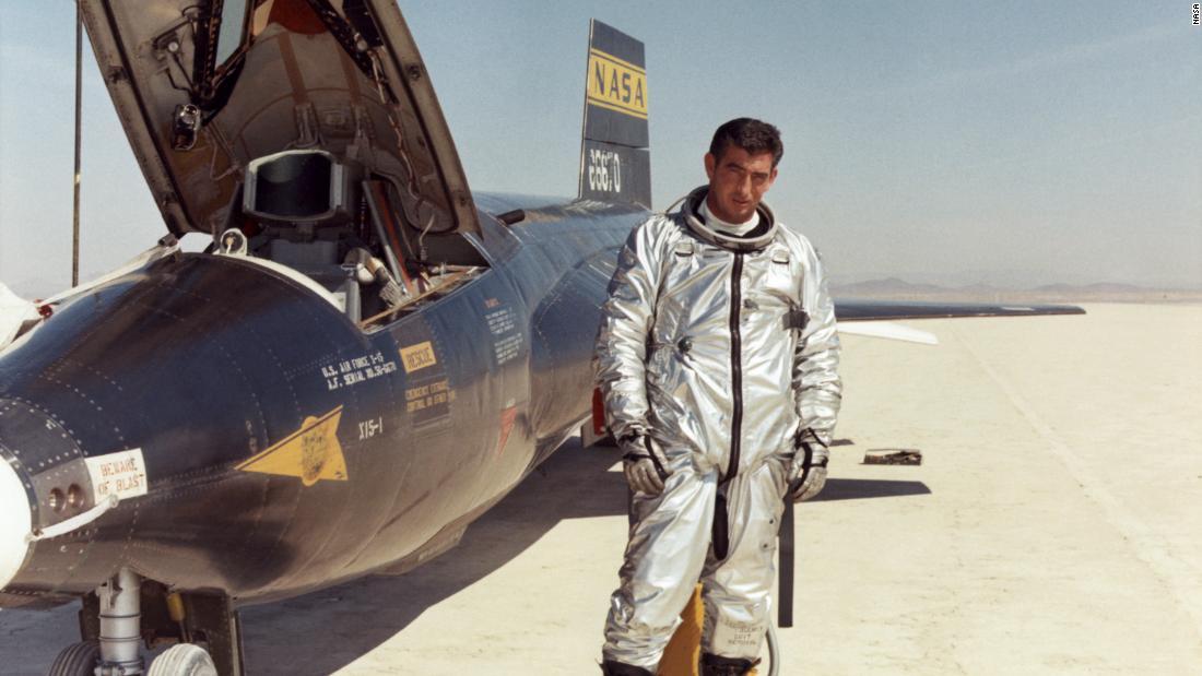 X-15: el avión cohete tripulado más rápido de la historia