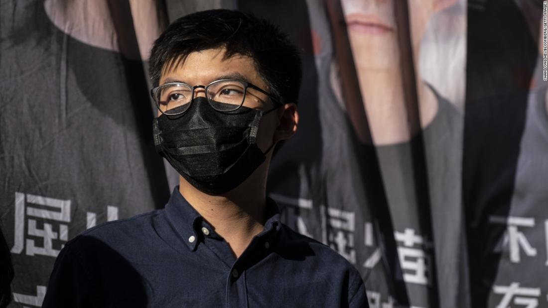 Pro-democracy candidate Joshua Wong has been disqualified from an upcoming election in Hong Kong.