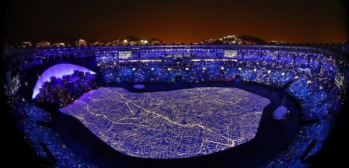 Ceremonia de apertura de los Juegos Olímpicos de Río