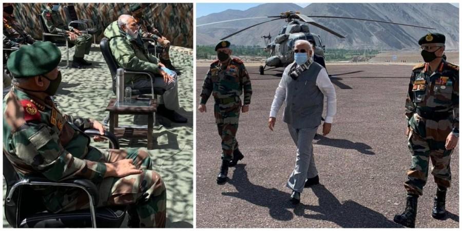 PM Modi Ladakh