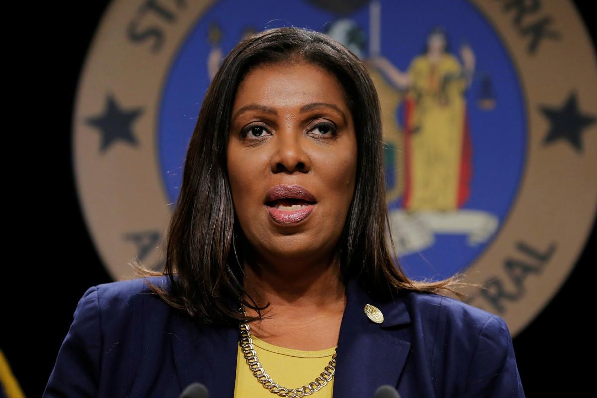 """AG Letitia James llama a """"cambiar la estructura existente"""" de la policía de Nueva York"""