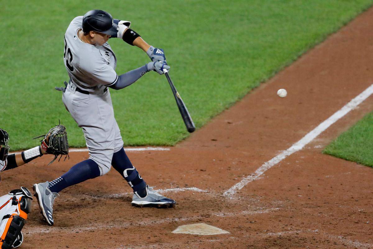 Aaron Judge de los Yankees convierte la noche olvidable en memorable