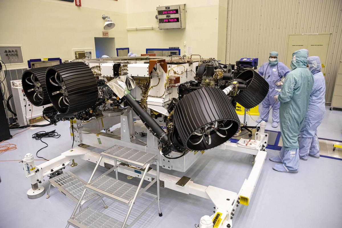Así es como el rover Mars Perseverance llegará al Planeta Rojo
