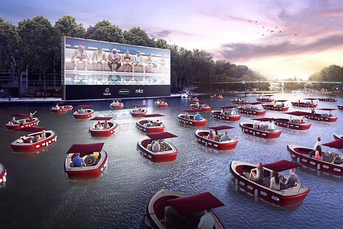 El cine en barco llegará a Nueva York este verano