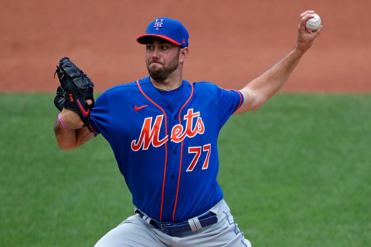 El novato David Peterson en la conversación para unirse a la rotación de los Mets