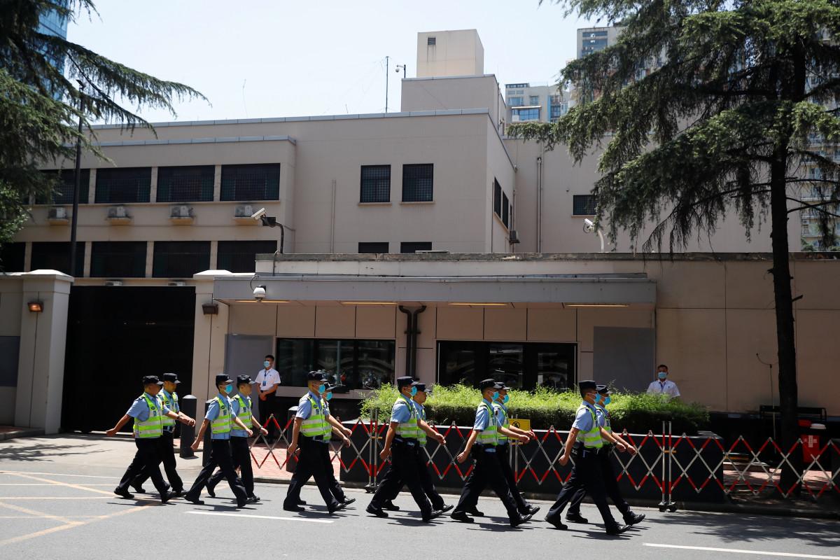 Estados Unidos cierra el consulado de Chengdu en China, luego de la orden de Houston