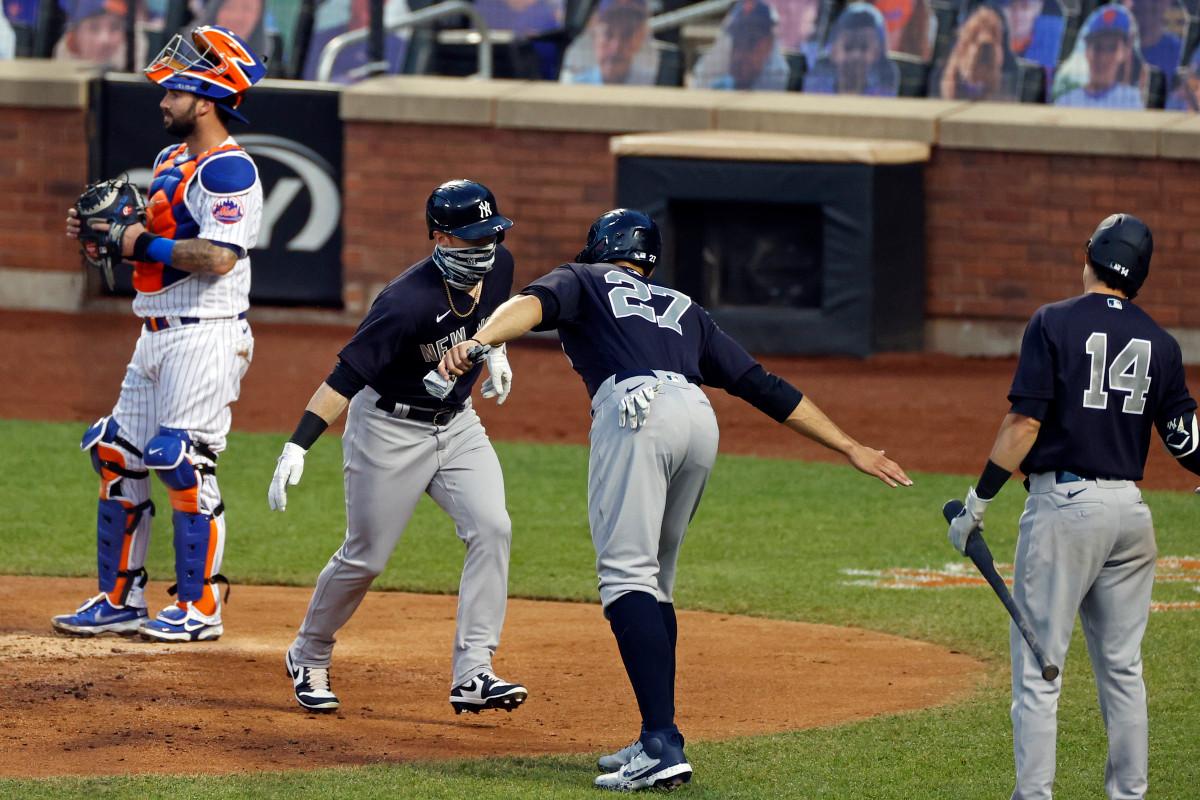 Este juego de los Yankees-Mets fue diferente
