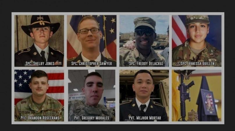 Víctimas de Fort Hood