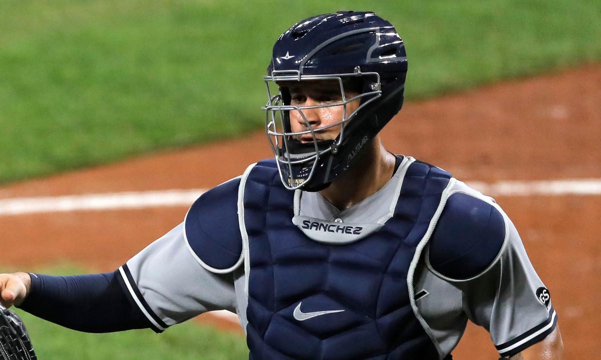 Gary Sanchez de los Yankees, Brett Gardner todavía 0 para la temporada