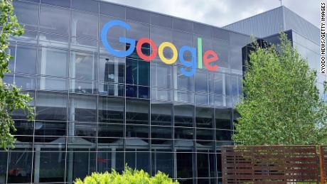 Sede de Google en Mountain View, California. El sistema operativo Android de la compañía representa el 91% de los sistemas operativos móviles en uso en la India.